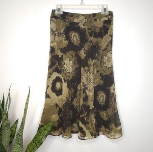 NWT Anne Klein wool & silk skirt size 2